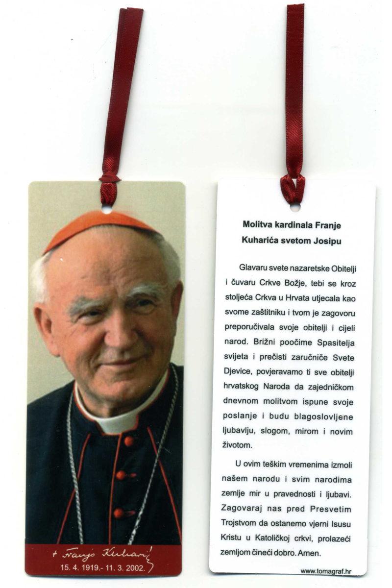 Kardinal Franjo Kuharic Tomagraf